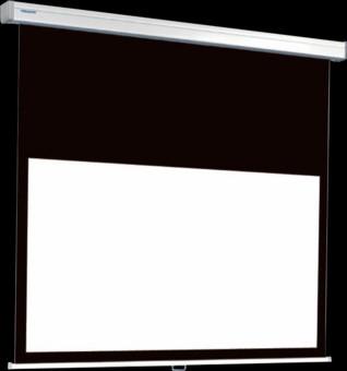 Ecran proiectie Projecta COMPACT RF ELECTROL 16:9, panza High Contrast + Telecomanda RF + extended black drop