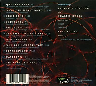 CD Naim Laurence Hobgood: When The Heart Dances