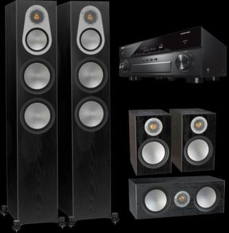 Pachet PROMO Monitor Audio Silver 300 pachet 5.0 + Yamaha RX-A880