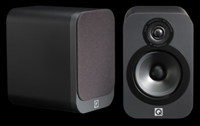 Q Acoustics 3020 + Cambridge Audio topaz SR10