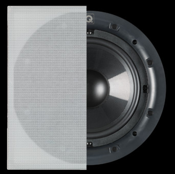 Boxe Q Acoustics QI SUB 80SP Performance ( in Wall )