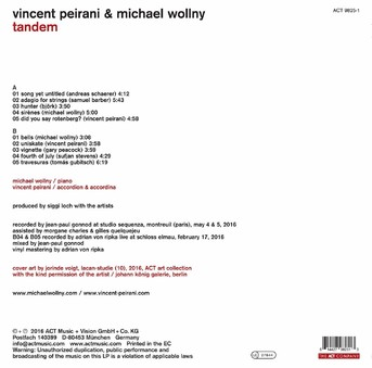 VINIL ACT Vincent Peirani & Michael Wollny: Tandem