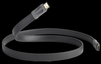 Cablu QED Performance eFlex HDMI Graphite