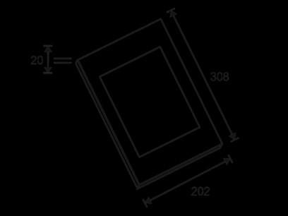 OMB Carcasa metalica pentru Tablete Tablex Block / Touch