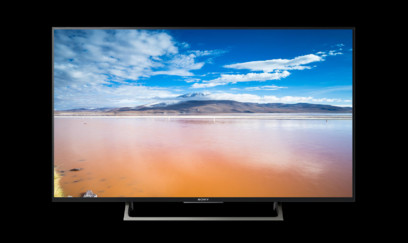 TV SONY BRAVIA 43XE8077, 108cm, 4K, HDR, Android TV, rama argintie