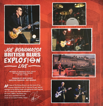 VINIL Universal Records Joe Bonamassa - British Blues Explosion Live