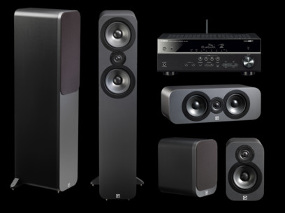 Pachet PROMO Q Acoustics 3050 5.0 pack + Yamaha RX-V481