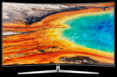 TV Samsung 65MU9002, Argintiu, UHD, Curbat, 163 cm