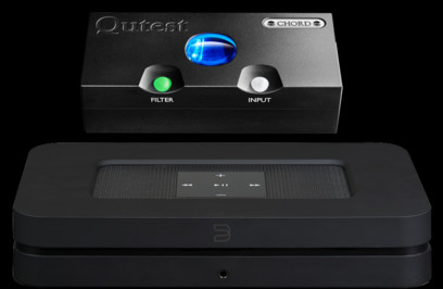 DAC Chord Electronics Qutest + Bluesound Node 2i