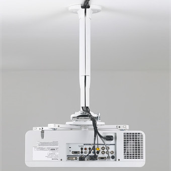 Suport videoproiector, KITEC045080W, Alb