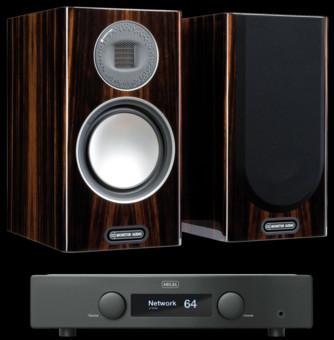 Pachet PROMO Monitor Audio Gold 100 (5G) + Hegel H95