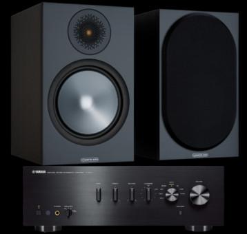 Pachet PROMO Monitor Audio Bronze 100 + Yamaha A-S501