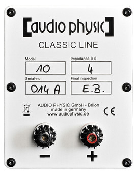 Boxe Audio Physic Classic 10 Glass