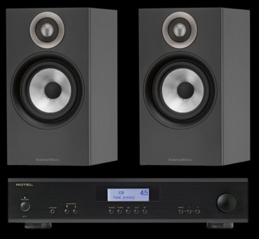 Pachet PROMO Bowers & Wilkins 607 + Rotel A-11