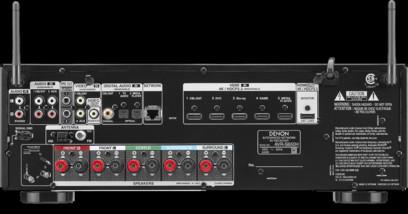 Receiver Denon AVR-S650H