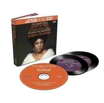 CD Decca Puccini - Tosca ( Karajan - Price, Di Stefano ) CD + BluRay Audio