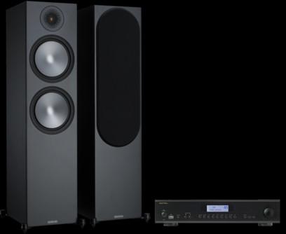 Pachet PROMO Monitor Audio Bronze 500 + Rotel A-12