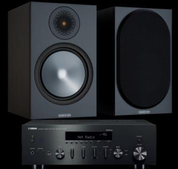 Pachet PROMO Monitor Audio Bronze 100 + Yamaha R-N602