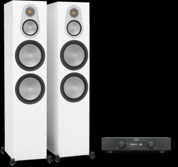 Pachet PROMO Monitor Audio Silver 500 + Hegel H90