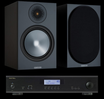 Pachet PROMO Monitor Audio Bronze 100 + Rotel A-11