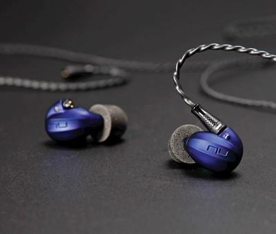 Casti Hi-Fi NuForce HEM4 Albastru