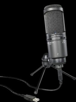 Microfon Audio-Technica AT2020USB+