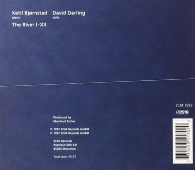 CD ECM Records Ketil Bjornstad, David Darling: The River