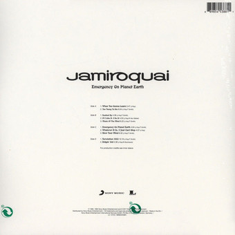 VINIL Universal Records Jamiroquai - Emergency On Planet Earth