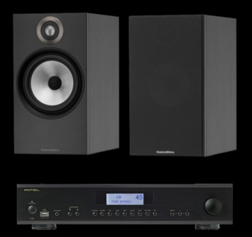 Pachet PROMO Bowers & Wilkins 606 + Rotel A-12