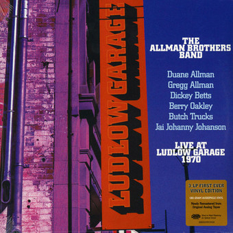 VINIL Universal Records The Allman Brothers - Live At Ludlow Garage 1970