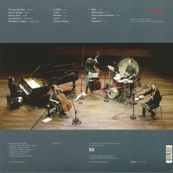 CD ECM Records Thomas Stronen / Time Is A Blind Guide: Lucus