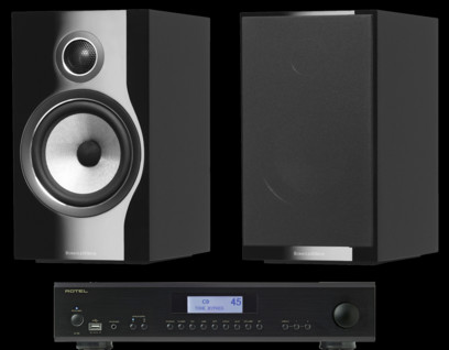 Pachet PROMO Bowers & Wilkins 706 S2 + Rotel A-12