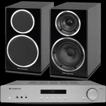Pachet PROMO Wharfedale Diamond 225 + Cambridge Audio AXA35