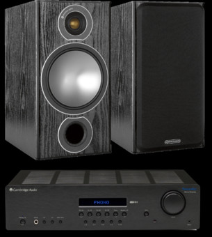Pachet PROMO Monitor Audio Bronze 2 + Cambridge Audio Topaz SR20