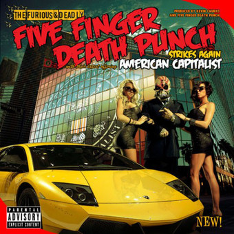 VINIL Universal Records Five Finger Death Punch - American Capitalist