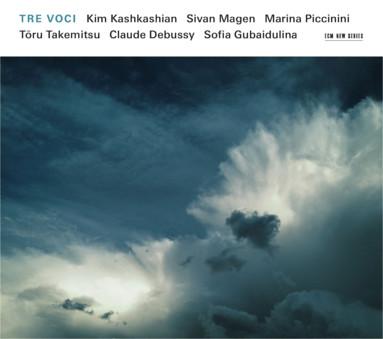CD ECM Records Kim Kashkashian, Sivan Magen, Marina Piccinini: Tre Voci