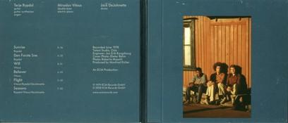 CD ECM Records Terje Rypdal / Miroslav Vitous / Jack DeJohnette
