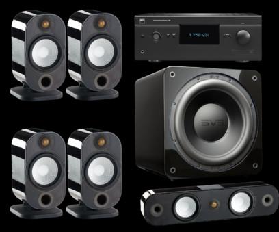 Pachet PROMO Monitor Audio Apex 5.0 + SVS SB-3000 + NAD T 758 V3i