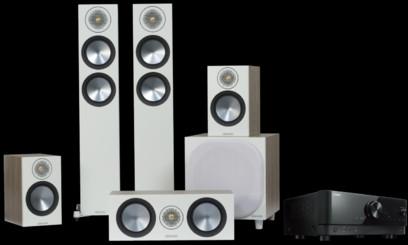 Pachet PROMO Monitor Audio Bronze 200 pachet 5.1 + Yamaha RX-V4A
