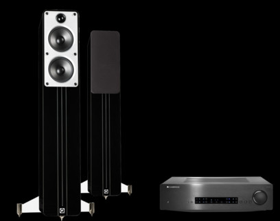 Q Acoustics Concept 40 + Cambridge Audio CXA60