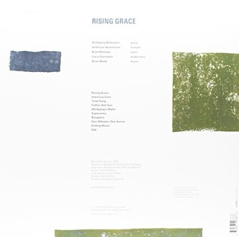 VINIL ECM Records Wolfgang Muthspiel: Rising Grace