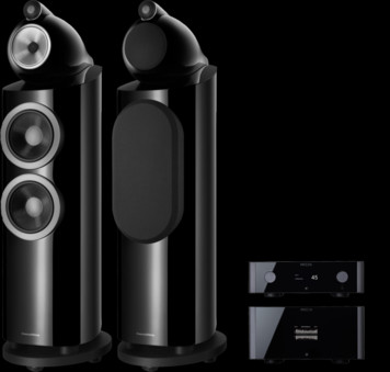 Pachet PROMO Bowers & Wilkins 803 D3 + Rotel Michi P5 si S5