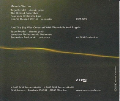CD ECM Records Terje Rypdal / Hilliard Ensemble: Melodic Warrier