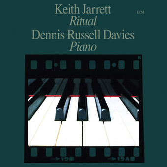 CD ECM Records Keith Jarrett / Dennis Russell Davies: Ritual