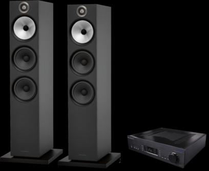 Pachet PROMO Bowers & Wilkins 603 S2 Anniversary Edition + Cambridge Audio Azur 851A