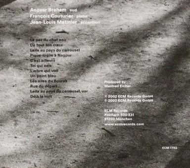 VINIL ECM Records Anouar Brahem: Le Pas Du Chat Noir