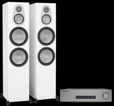Pachet PROMO Monitor Audio Silver 500 + Cambridge Audio CXA81