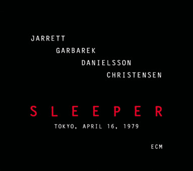 CD ECM Records Keith Jarrett Quartet: Sleeper