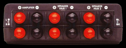 QED SS21 2 Way Speaker Switch
