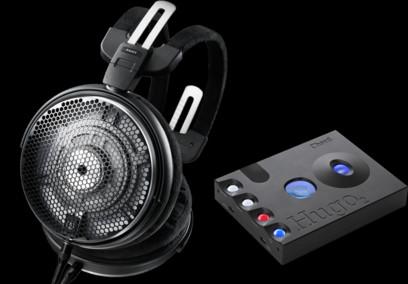 Pachet PROMO Audio-Technica ATH-ADX5000 + Chord Hugo 2